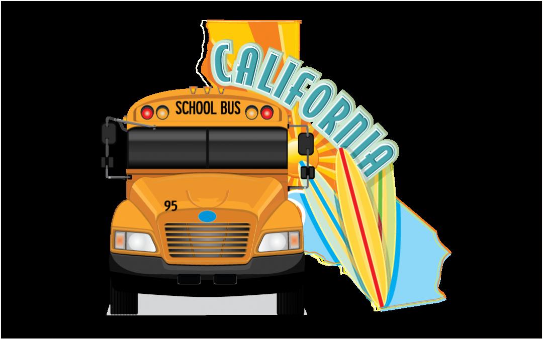 California School Bus Lettering