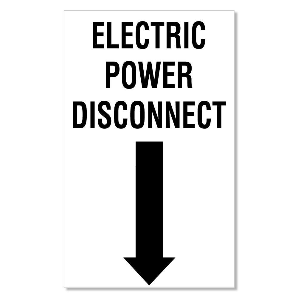 ELECTRIC-POWER-DISCONNECT