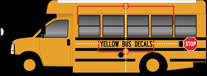 school bus lettering center